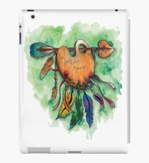 The catches dreams of the painter iPad Case/Skin