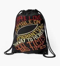 Led Zeppelin - Songs Drawstring Bag