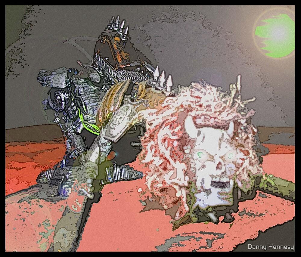 """chaos dreadnaught on Necron"" by Danny Hennesy"