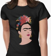 frida kahlo Women's Fitted T-Shirt