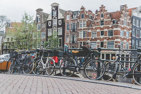 Bikes and Amsterdam by Nelms Photography