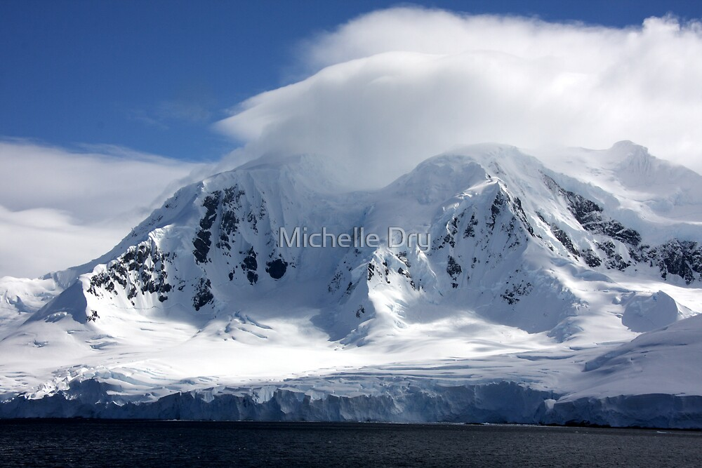Ice and snow by Michelle Dry