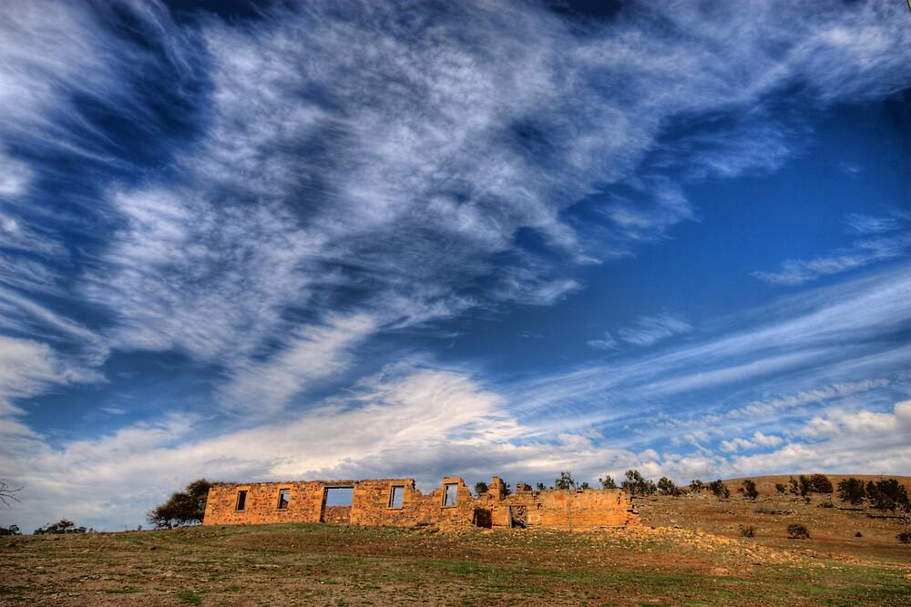 Ruin at Antill Ponds by Ian Robertson