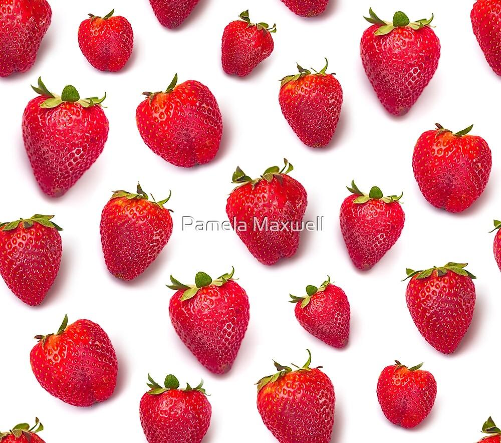 Strawberries by Pamela Maxwell