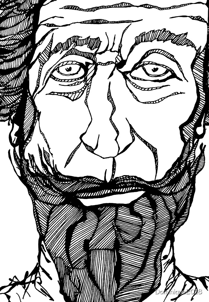 Man With Beard by Dominique2018