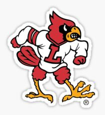 small university of louisville mascot Sticker