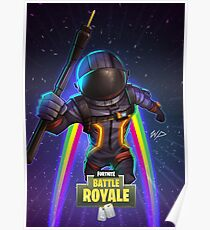 Fortnite Dark Voyager Poster