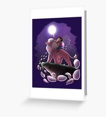 Crystal knight Greeting Card