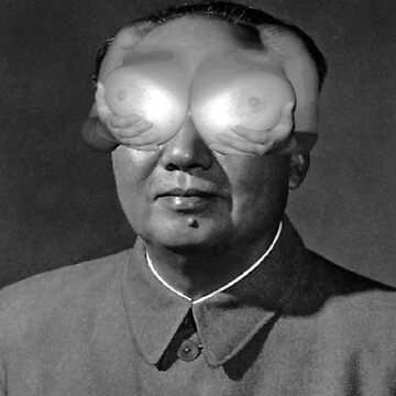 General Mao Zedong Boob Eye Collage by JAMESWOODFORD
