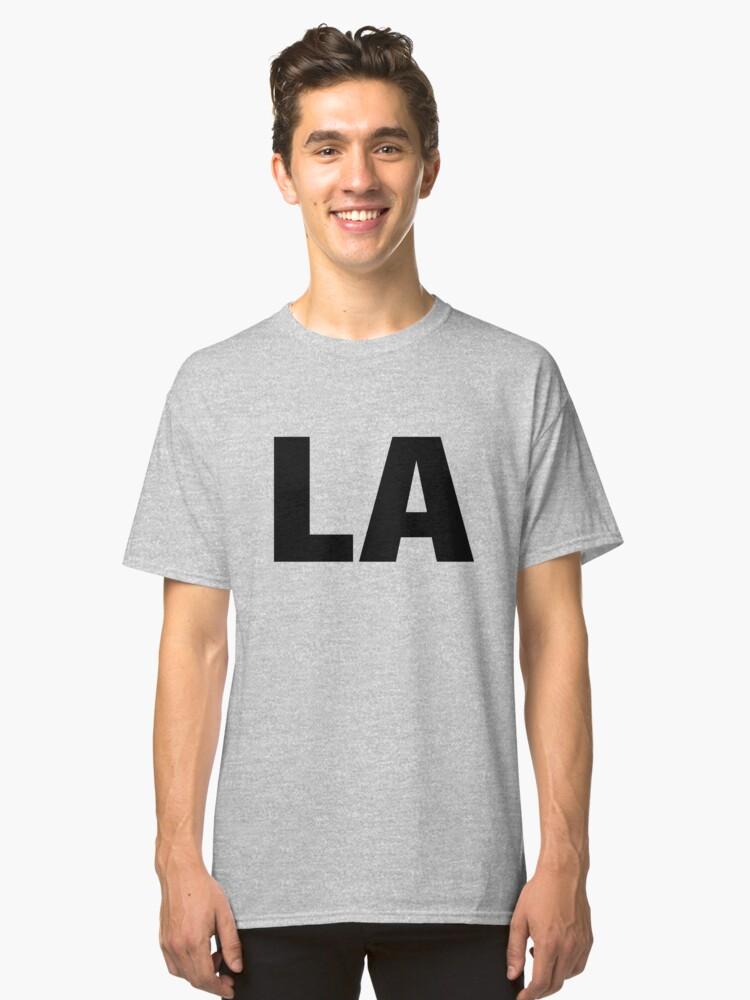 Louisiana LA Fun T-shirt Unique Vacation Souvenir for men and women who love Louisiana Classic T-Shirt Front
