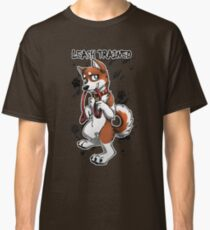Leash Trained - Brown Husky Classic T-Shirt