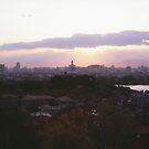 Sunset on City by maka1967