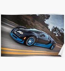 Bugatti Veyron Grand Sport Vitesse Poster