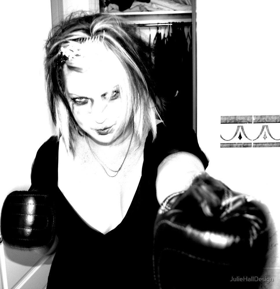 Boxing Zombie by JulieHallDesign