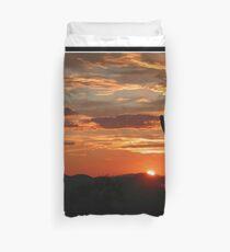 Arizona Sunrise Duvet Cover
