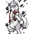 Leash Trained - Gray Husky by AylaStarDragon