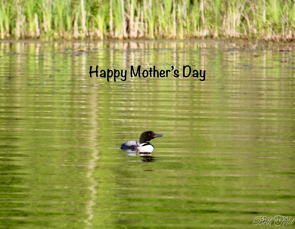 Happy Mother's Day Loon by Beth Tidd