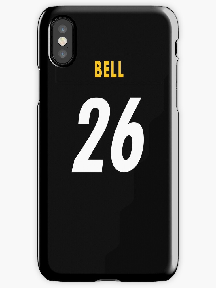 NFL Steelers Home Jersey Bell iPhone Case by jm95