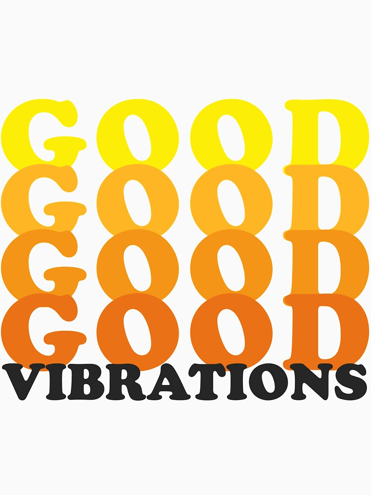 Gute Vibrationen - Retro von figandlaurel