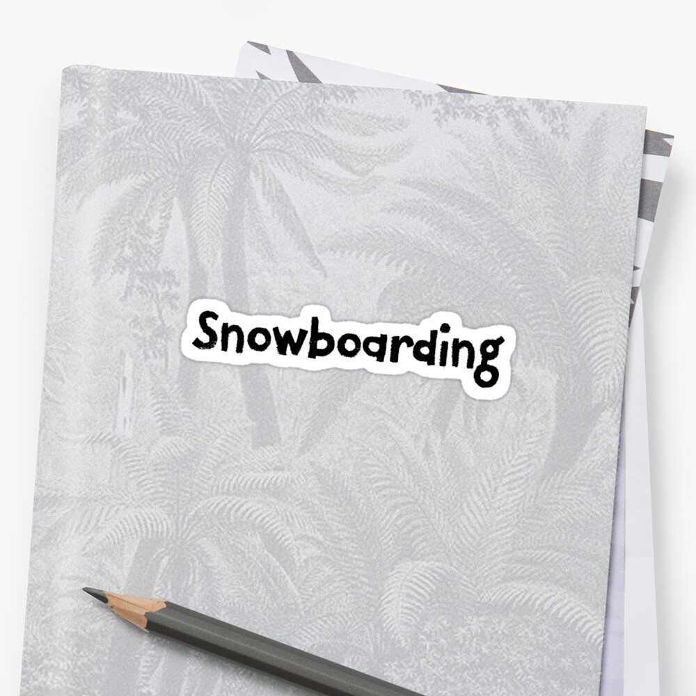 Snowboarding Great For Adventure Traveler by StrangeStreet