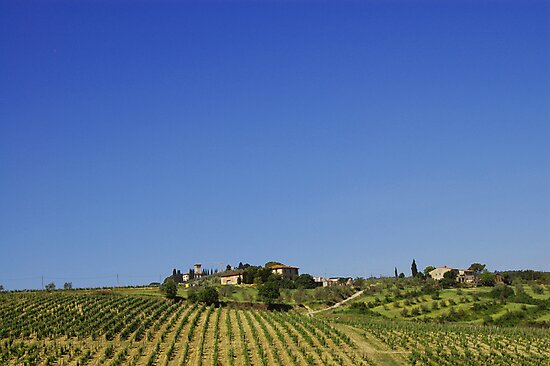 Chianti Region of Tuscany by Ralph Angelillo