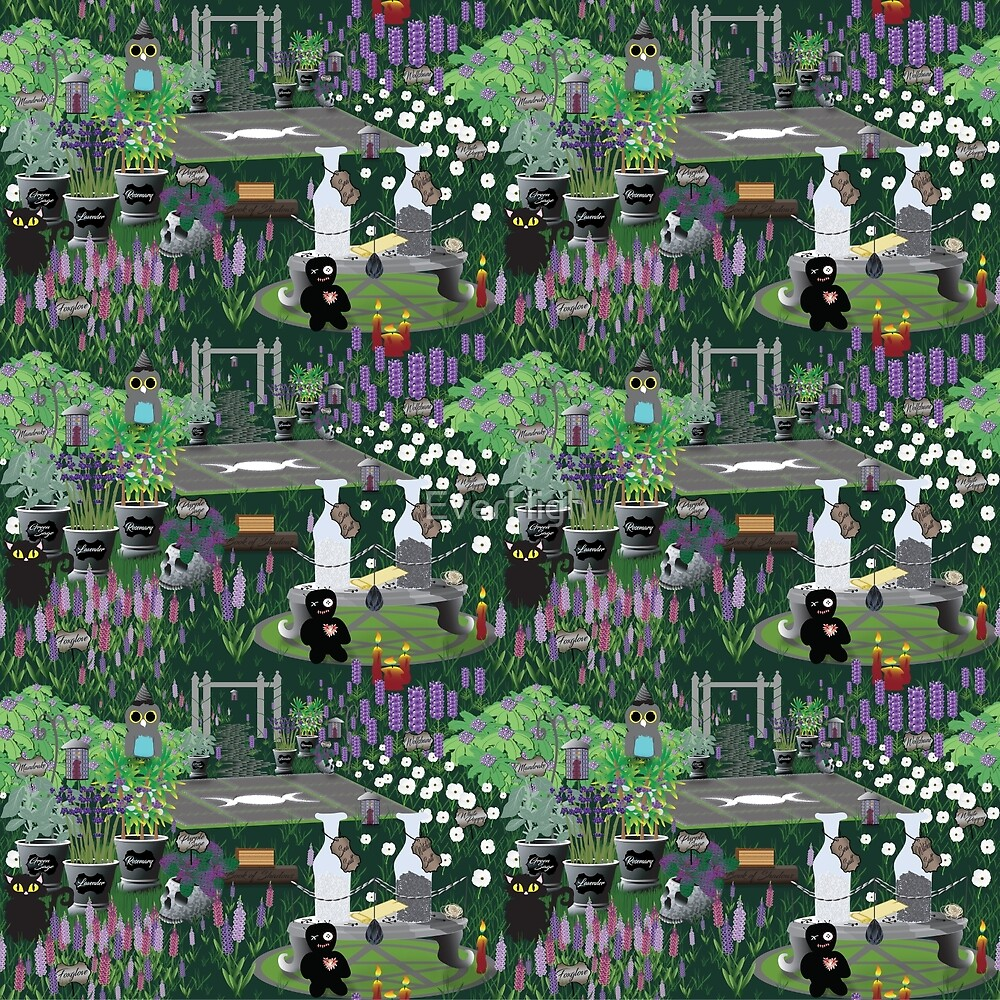 Thy wicca garden by EverHigh
