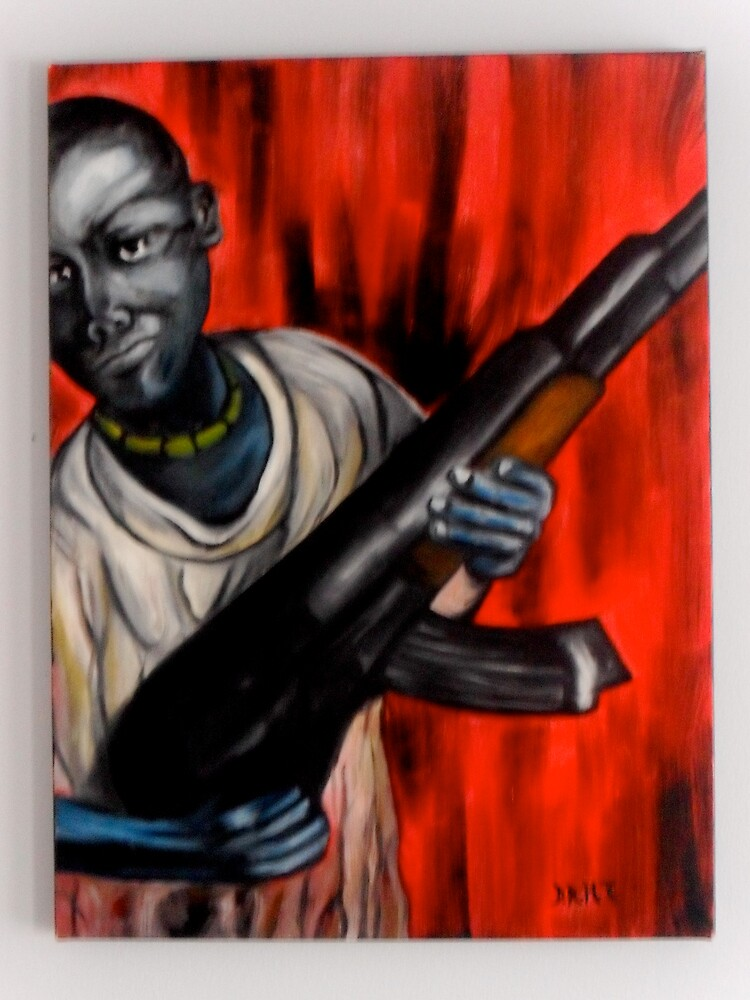 Child Soldier by dhamann