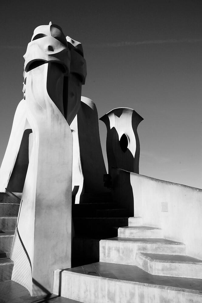 gaudi,barcelona by Rob Blackwood