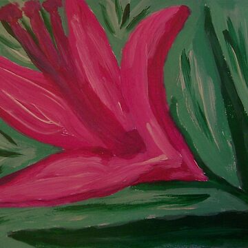 Pink Lily by Aliree