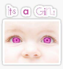 It's a Girl! T-Shirt Sticker
