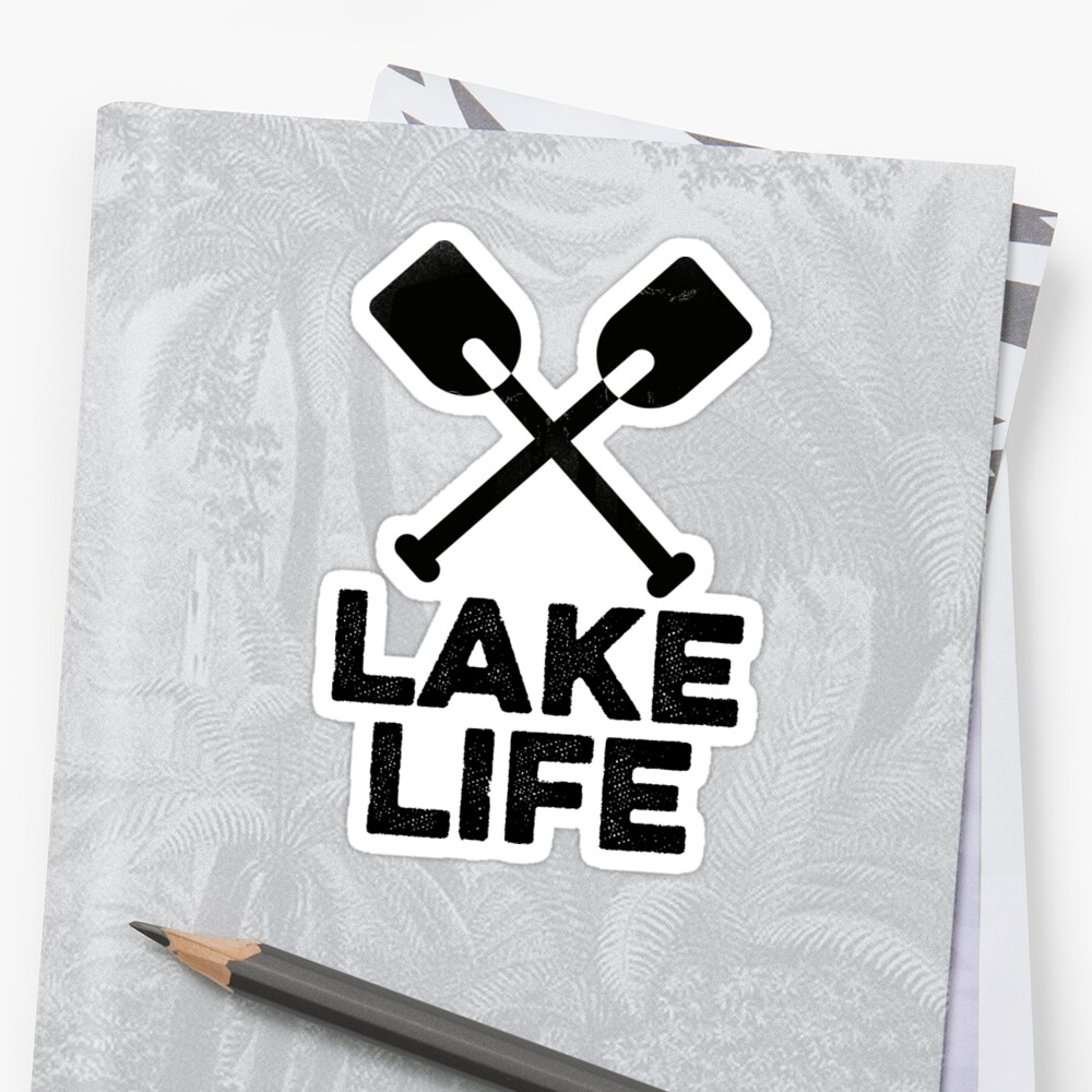 Lake Life Gift For Camper Hiker by ReidDesignHauss