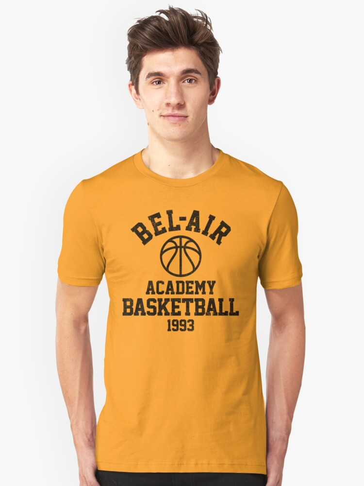 Bel-Air Academy Basketball Unisex T-Shirt Front