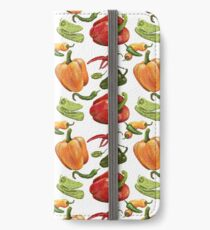 Sweet and Spicy Peppers iPhone Wallet/Case/Skin