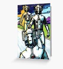 Weetabix Doctor Who 1977 Cybermen Greeting Card