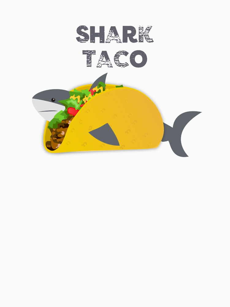 Funny Shark Taco Lovers Tshirt Tee Shirt Gift  by gillys