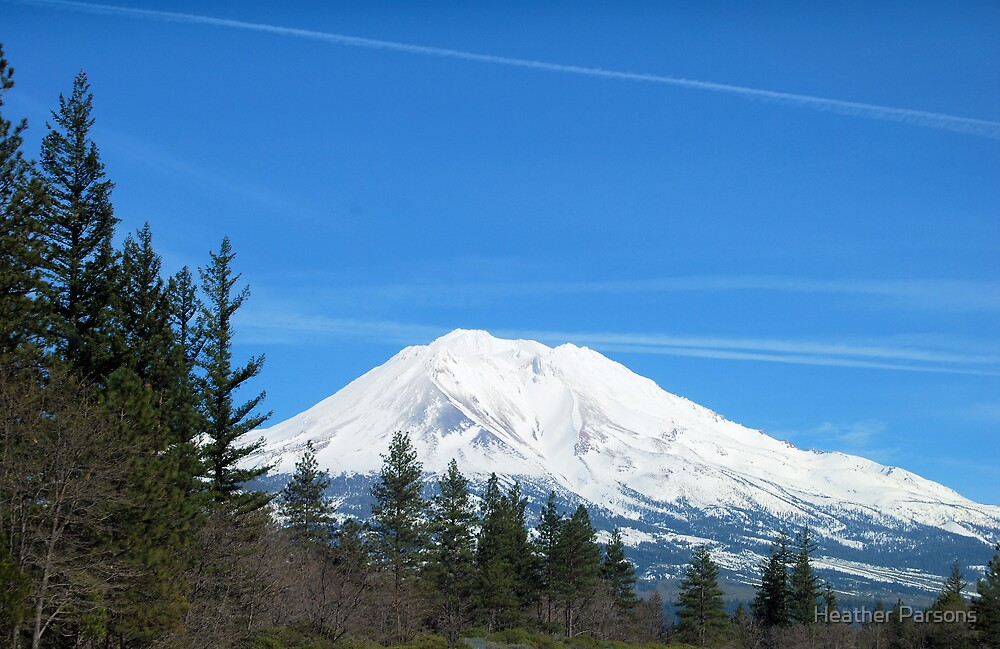 Mt Shasta by Heather Parsons