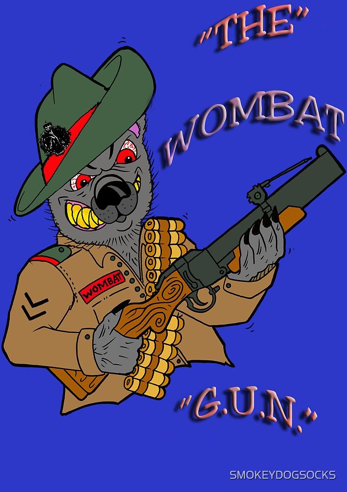 THE WOMBAT GUN by SMOKEYDOGSOCKS