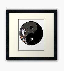 Yin Yang NYC Great For Motivation Yoga Mantra Framed Print