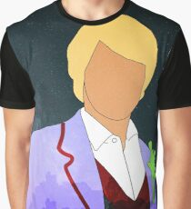 Peter Davidson - Doctor Who Graphic T-Shirt
