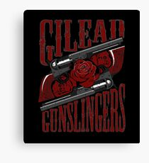 Gilead Gunslingers Canvas Print