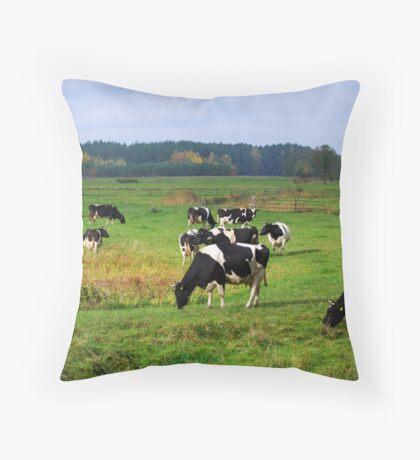 Pasturage Throw Pillow