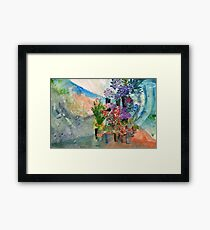 Flower Shop Framed Print