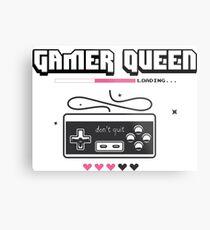 Gamer Queen Metal Print