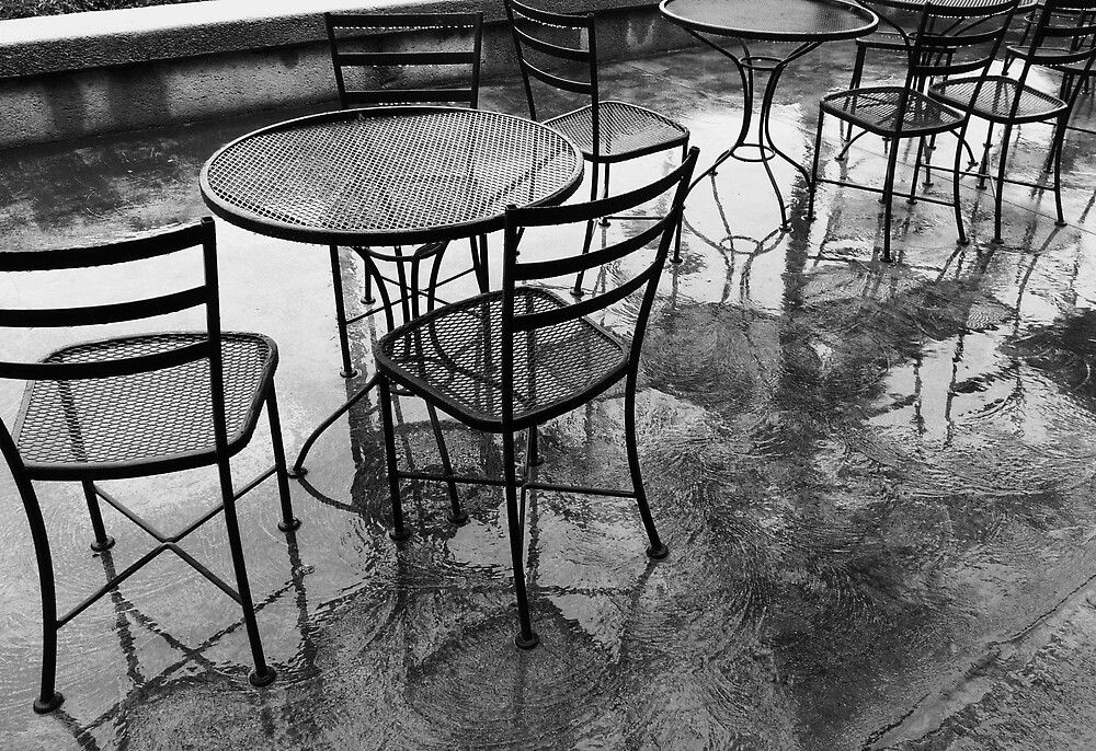 Rainy Day Cafe by Barbara Morrison