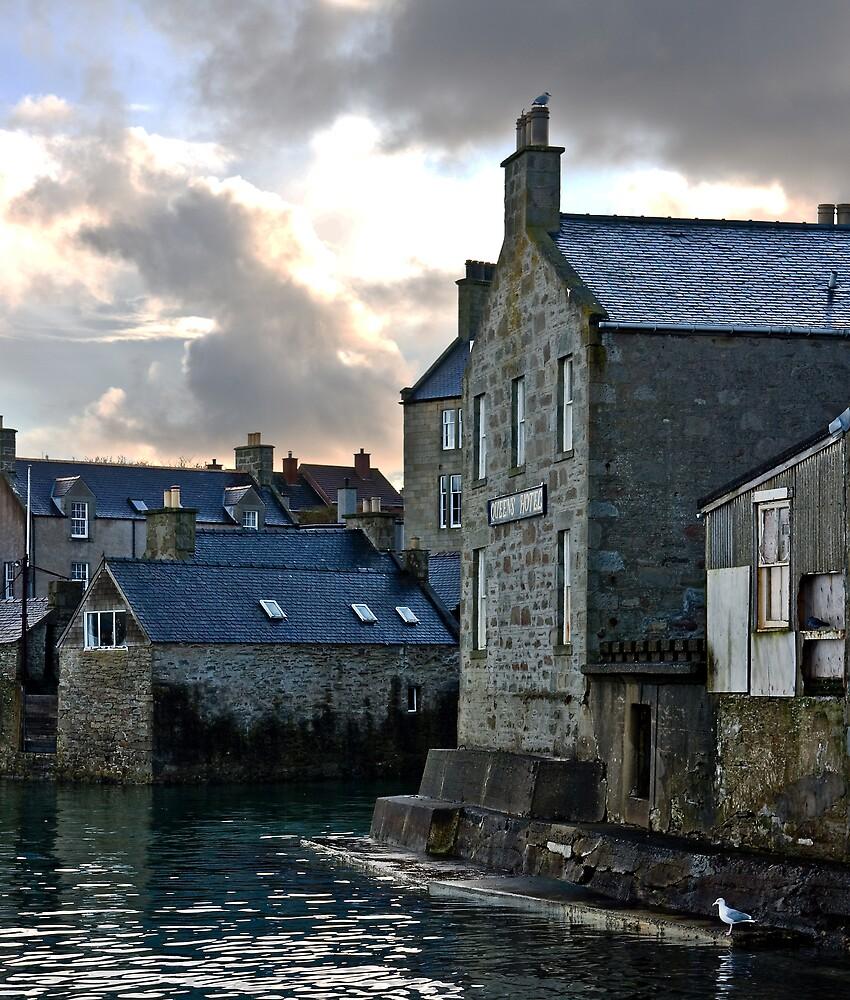 Lerwick Waterfront, Shetland Islands, Scotland by Del419