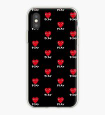 coque iphone xr comme des garcons play