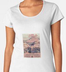 Vintage Grand Canyon Travel Poster Women's Premium T-Shirt