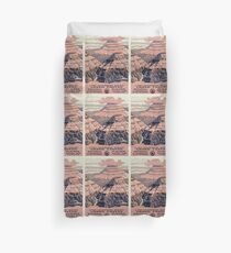 Vintage Grand Canyon Travel Poster Duvet Cover