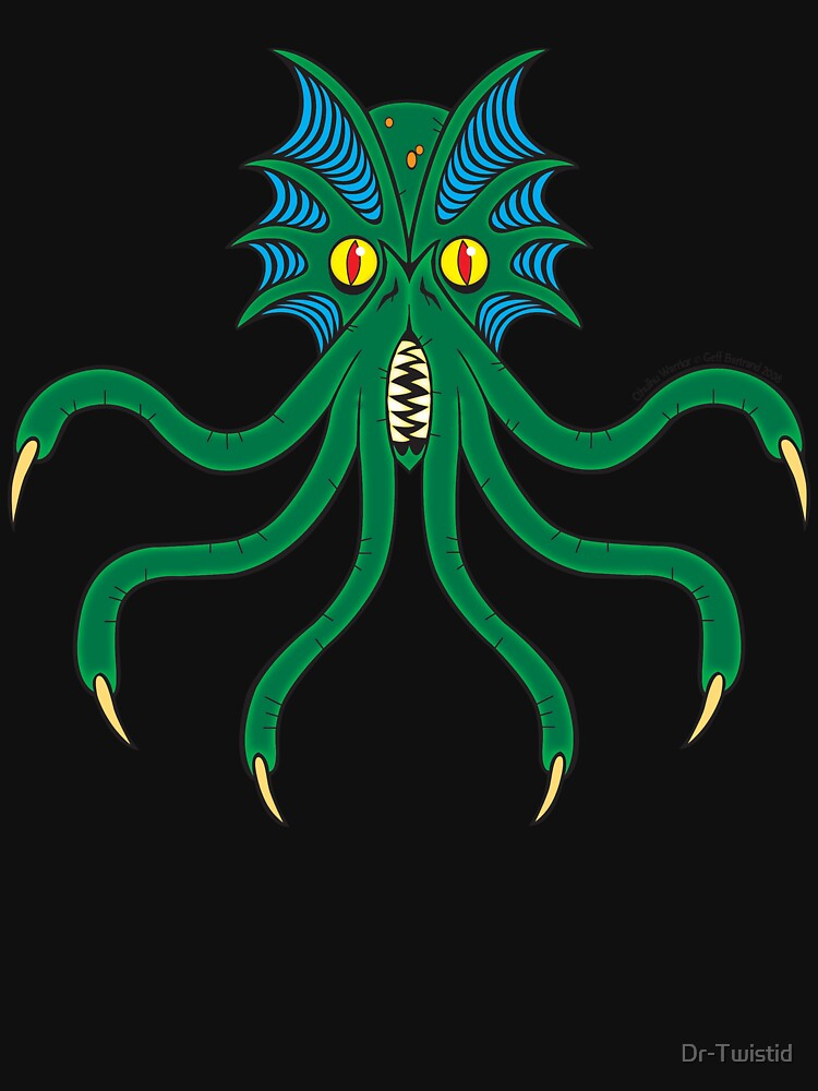 Cthulhu Warrior by Dr-Twistid