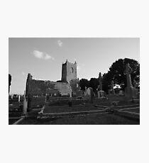 Garristown Cemetery Photographic Print